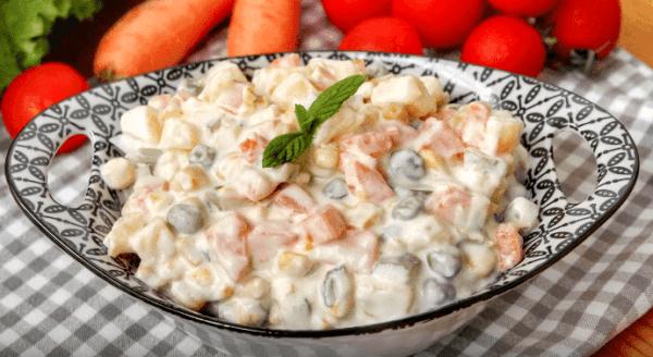 ılık makarna salatası Tarifi: türkischer Nudelsalat - Rezept auf Deutsch