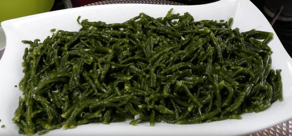Deniz Börülcesi Salatası Tarifi: Seegras-Salat - Rezept auf deutsch