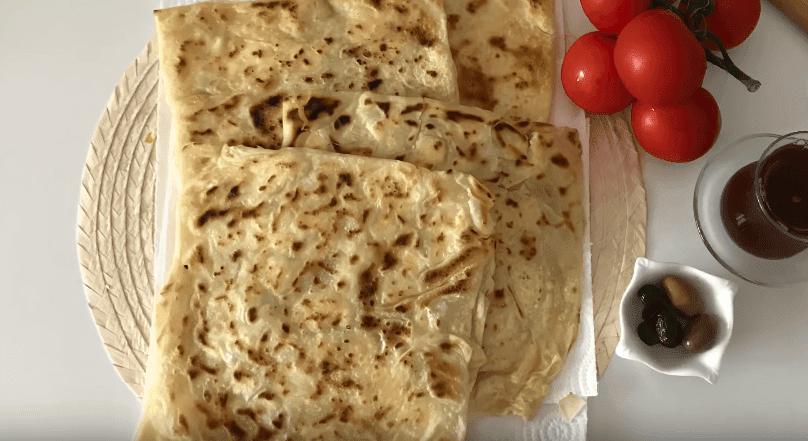 Gözleme Tarifi: gefüllte Teigtaschen - Rezept auf Deutsch