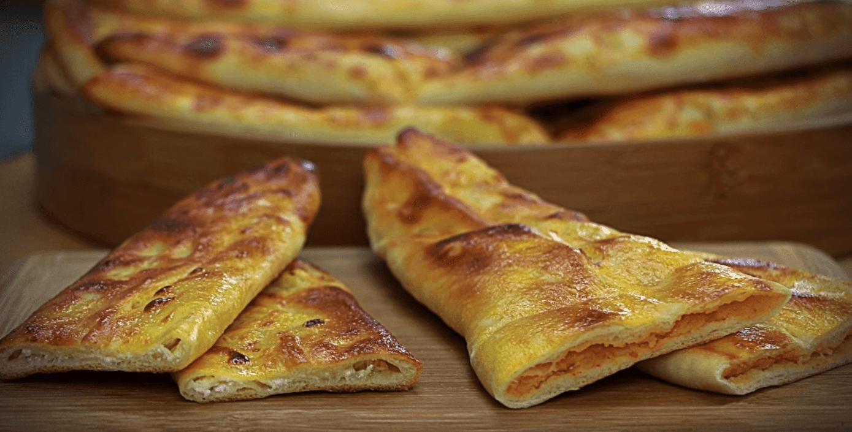 Kaşarlı Pide Tarifi: Fladen mit Kaşar-Käse - Rezept auf deutsch