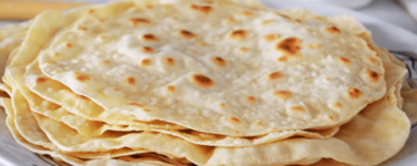 Lavaş– Rezept für Fladenbrot mit Teigblasen (Wraps)