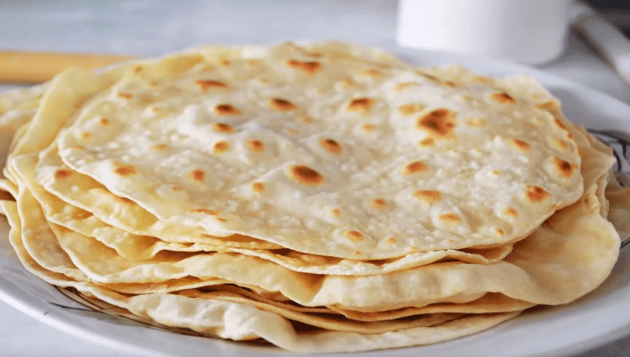 Lavaş Tarifi: Fladenbrot mit Teigblasen (Wraps) - Rezept auf deutsch