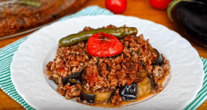 Patlıcan Musakka Tarifi, Auberginen Moussaka - Rezept auf Deutsch
