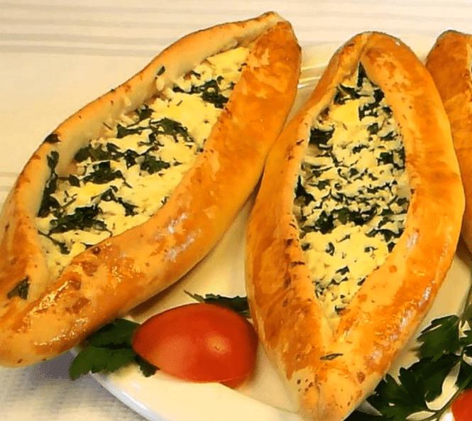 Peynirli Pide Tarifi: Fladen mit Schafskäse - Rezept auf deutsch