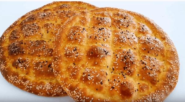 Ramazan pidesi Tarifi: türkisches Fladenbrot - Rezept auf Deutsch