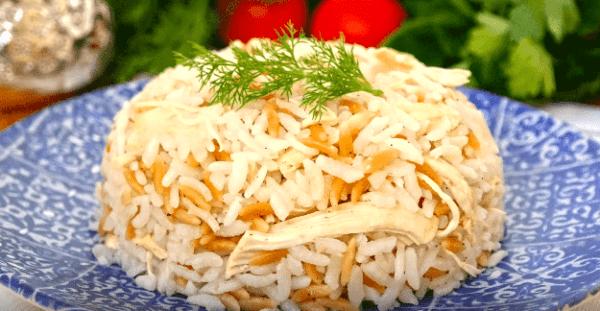 Tavuklu Pilav Tarifi: Reis mit Hühnchen - Rezept auf Deutsch