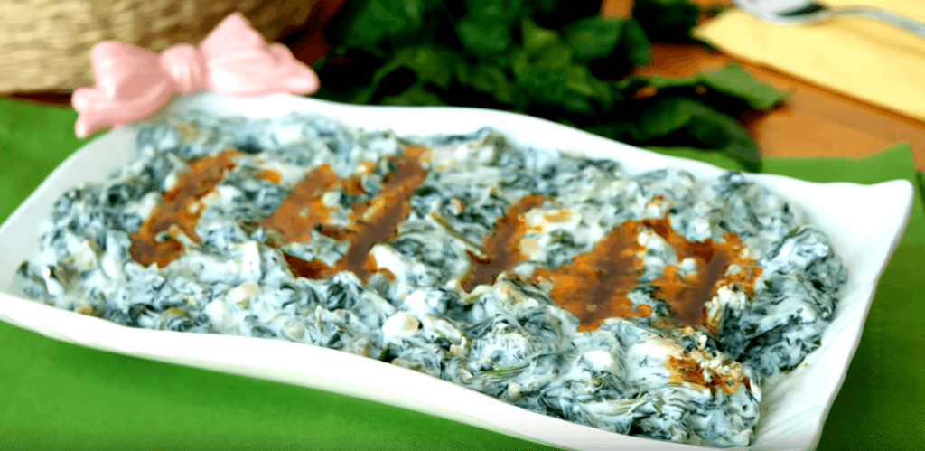Borani Tarifi: Spinat-Creme - Rezept auf deutsch