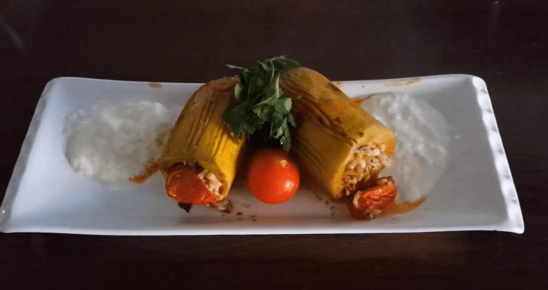 Kabak Dolması Tarifi: gefüllte Zucchini - Rezept auf deutsch